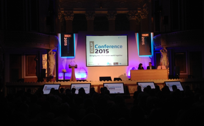 Community, Advocacy and Freedom: CILIP 2015 Conference Report