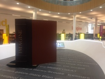 The audio-visual section in Liverpool Central Library draws on the city's cultural heritage.